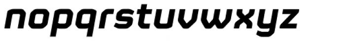 FS Sinclair Bold Italic Font LOWERCASE