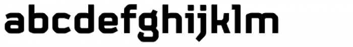 FS Sinclair Bold Font LOWERCASE