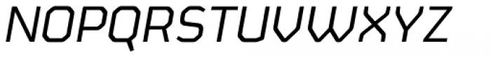 FS Sinclair Italic Font UPPERCASE