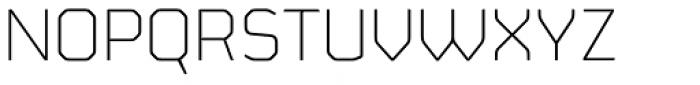 FS Sinclair Light Font UPPERCASE