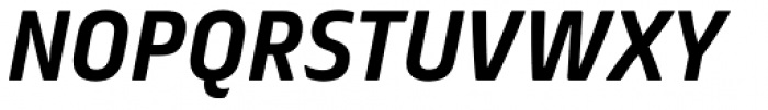 FS Truman Bold Italic Font UPPERCASE