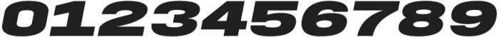 FT EXPO Black Oblique otf (900) Font OTHER CHARS