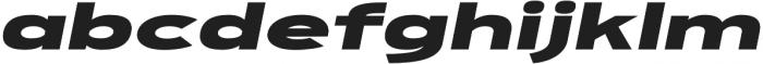 FT EXPO Black Oblique otf (900) Font LOWERCASE