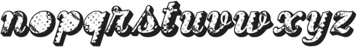 FTF Indonesiana BatikRetrosphia otf (400) Font LOWERCASE