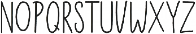 Fturism Sans otf (400) Font LOWERCASE