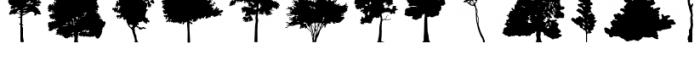 FT Hidden Forest Font UPPERCASE