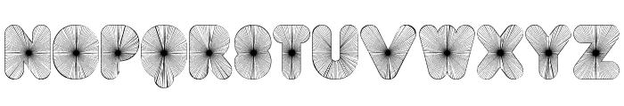 FT AcidTest 2 progressive Font LOWERCASE
