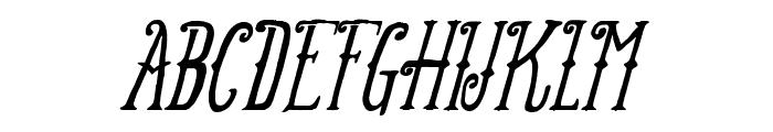 FT Anchor Yard Italic Font UPPERCASE