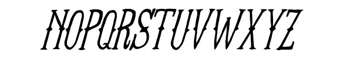 FT Anchor Yard Italic Font LOWERCASE