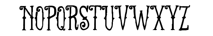 FT Anchor Yard Regular Font UPPERCASE