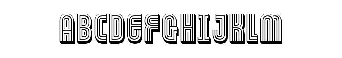 FT Ornamental Font UPPERCASE