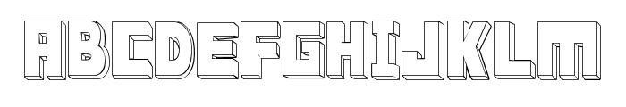 FT ScandinavianTitan2 White Font UPPERCASE
