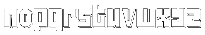 FT ScandinavianTitan2 White Font LOWERCASE