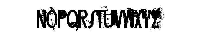 FT Twisted Ontogenesis Demoversion Font UPPERCASE