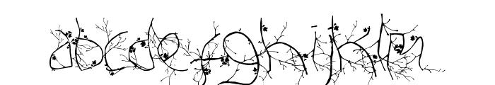 FTF Hutan Rantingee FREE Font LOWERCASE