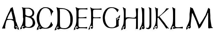 FTF Indonesiana Bramanangkoe Repackage Font UPPERCASE