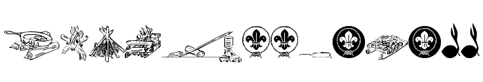 FTF Indonesiana Scout vl.1 Font UPPERCASE