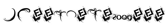 FTF Indonesiana Serif Hijauwana Font UPPERCASE