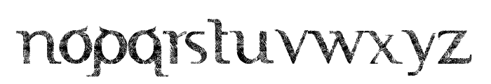 FTF Indonesiana Sketch Book Serif Font UPPERCASE