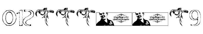 FTF Indonesiana Sketch Serif v.1 Font OTHER CHARS