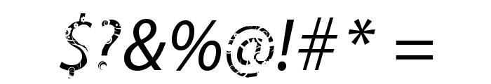 FTFBaliMyrantheeFREE-Italic Font OTHER CHARS