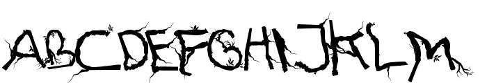 FTFHutanAkarasiana Font UPPERCASE
