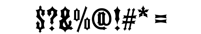 FTY IRONHORSE NCV Font OTHER CHARS