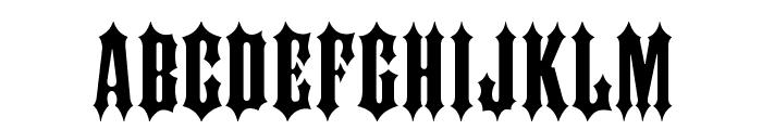 FTY IRONHORSE NCV Font UPPERCASE