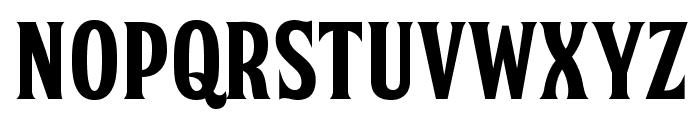 FTY SKORZHEN NCV Font UPPERCASE