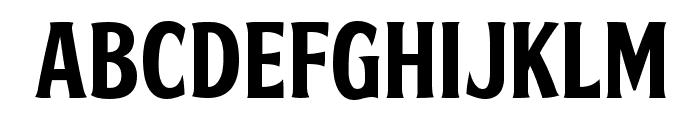 FTY SKRADJHUWN NCV 1 Font UPPERCASE