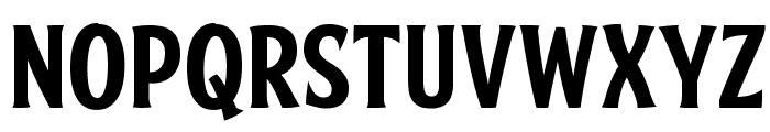 FTY SKRADJHUWN NCV 1 Font LOWERCASE