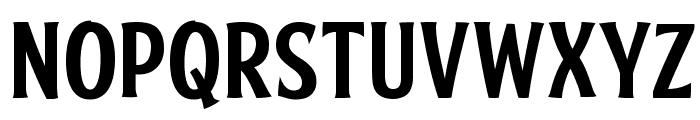 FTY SKRADJHUWN NCV 2 Font LOWERCASE
