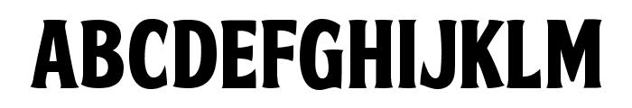 FTY SKRADJHUWN NCV 3 Font LOWERCASE