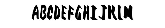 Ftr Fnt Regular Font UPPERCASE