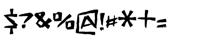 FT Stamper Regular Font OTHER CHARS