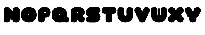 FT Tantor Regular Font UPPERCASE