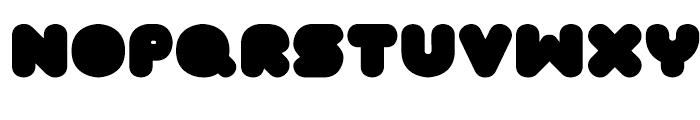 FT Tantor Regular Font LOWERCASE