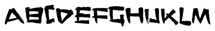 FT Stamper Regular Font UPPERCASE