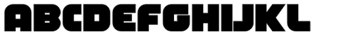 FT Industry Machine Bold Font LOWERCASE