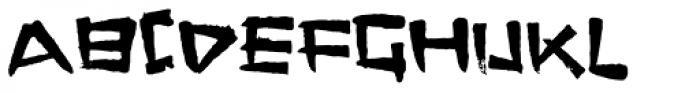 FT Stamper Font UPPERCASE