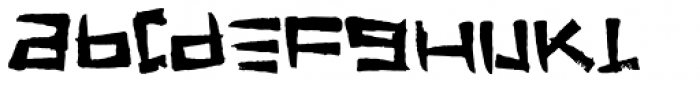 FT Stamper Font LOWERCASE