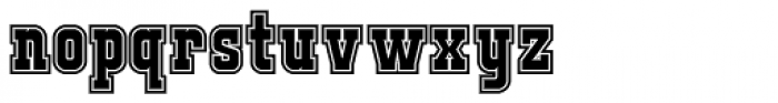 FTY JACKPORT COLLEGE B Font LOWERCASE