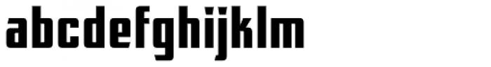 FTY Konkrete Blokkt CAS Font LOWERCASE