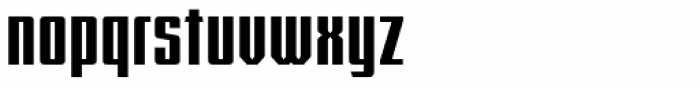 FTY Konkrete Connd DTP Font LOWERCASE