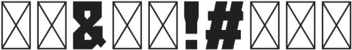 FURIA Bold otf (700) Font OTHER CHARS