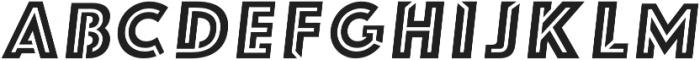 FUTURE LINES REG Italic otf (400) Font UPPERCASE