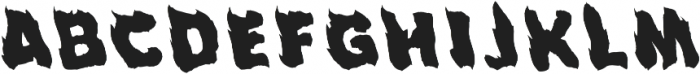 Fuego Display Cap otf (400) Font LOWERCASE