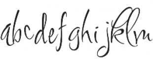 FugglesEight otf (400) Font LOWERCASE