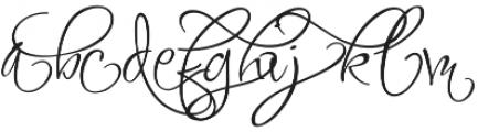 FugglesTen otf (400) Font LOWERCASE