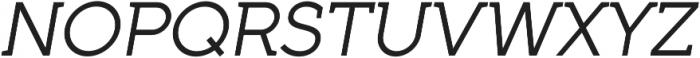 Full Neue SC 50 Italic otf (400) Font UPPERCASE